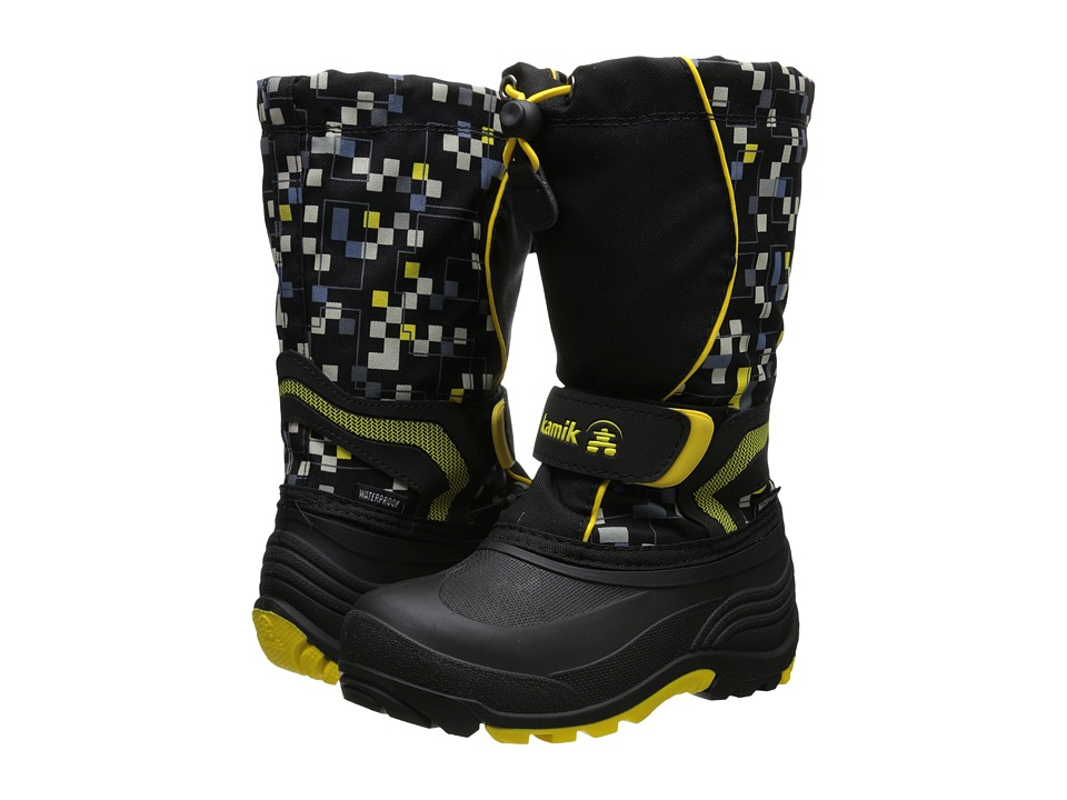 Kamik Kids - Snowbank 2 (Toddler/Little Kid/Big Kid) (Black) Kids Shoes