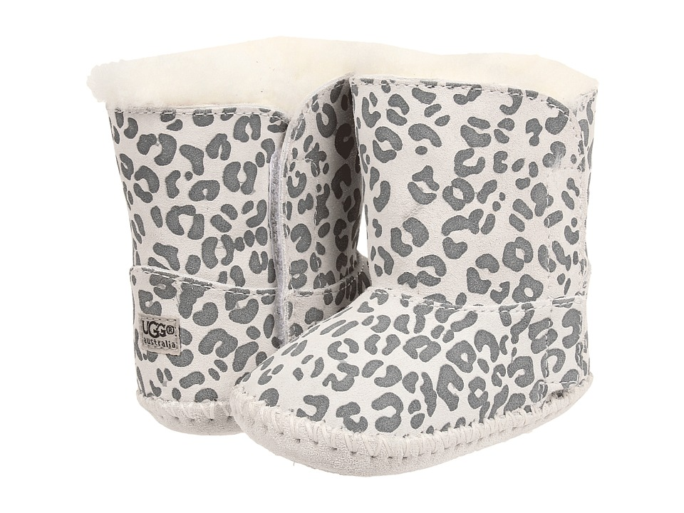 UGG Kids - Cassie Leopard (Infant/Toddler) (Snow Leopard Suede) Girls Shoes