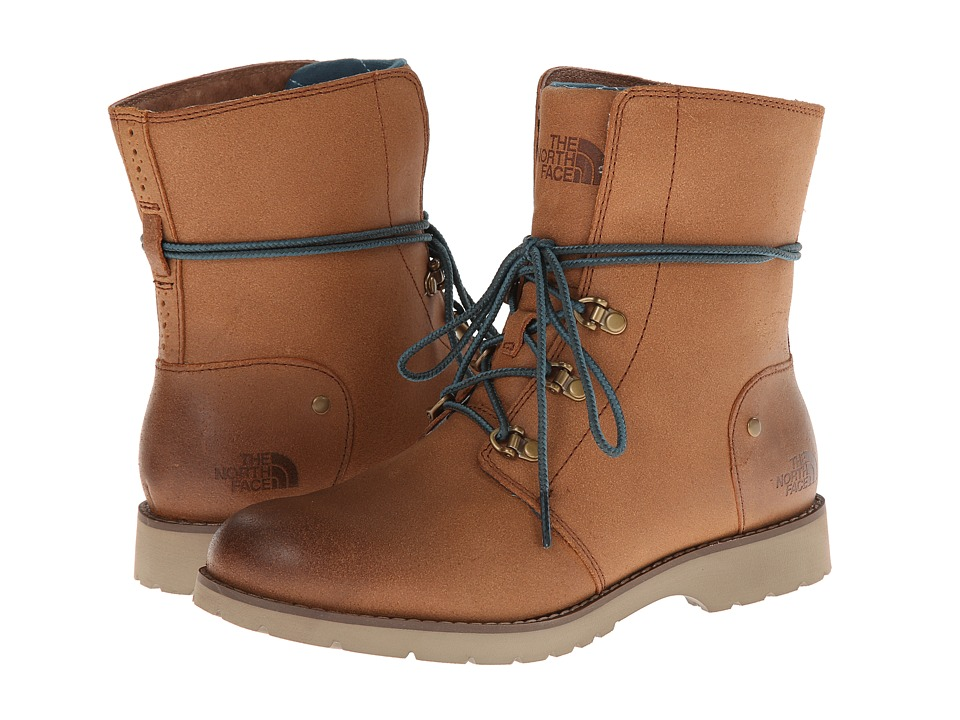 The North Face - Ballard Lace (Museum Brown/Noah Green) Women's Boots