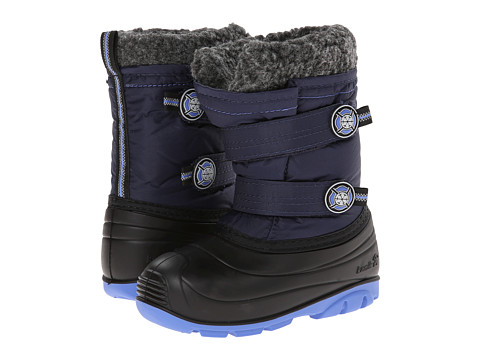 Kamik Kids - Snowjoy (Toddler) (Navy) Kids Shoes