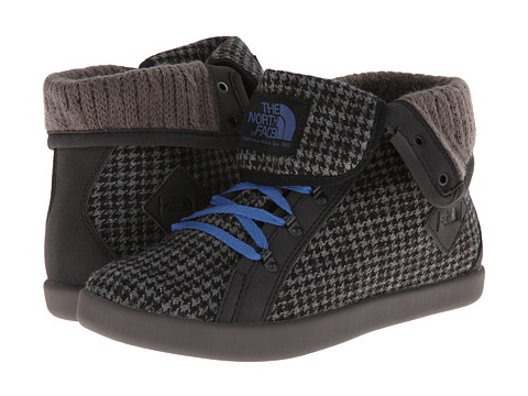 The North Face - Base Camp Roll-Down (TNF Black/Dutch Blue (Houndstooth)) Women