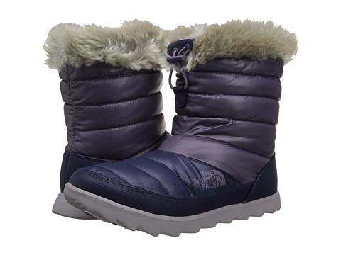 The North Face - ThermoBall Micro-Baffle Bootie (Shiny Purple Sage/Dapple Grey) Women