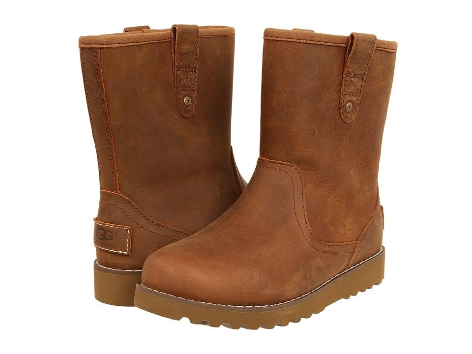 UGG Kids - Redwood (Toddler/Little Kid/Big Kid) (Chestnut Leather) Boys Shoes