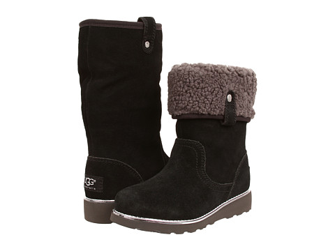 UGG Kids - Callie (Little Kid/Big Kid) (Black) Girls Shoes