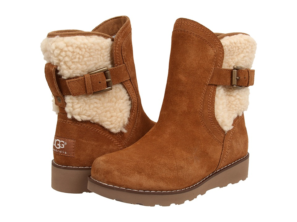 UGG Kids - Jayla (Little Kid/Big Kid) (Chestnut) Girls Shoes