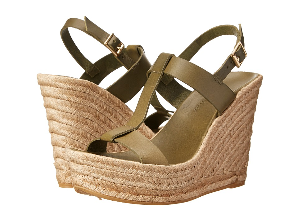 Delman - Trish (Seaweed Vachetta) Women's Wedge Shoes
