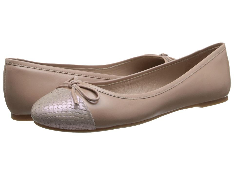 Delman - Blake (Almond) Women's Dress Flat Shoes