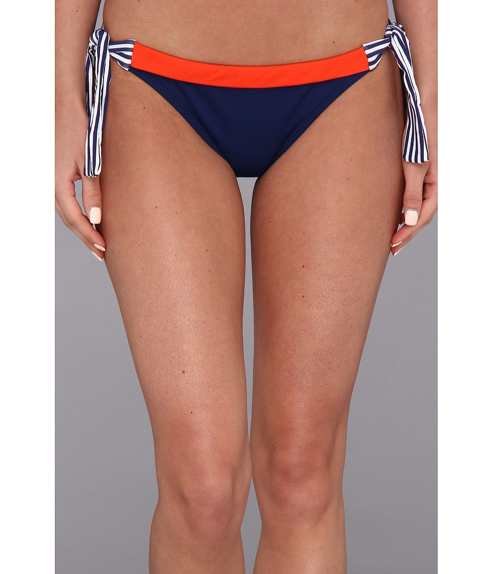 Bleu Rod Beattie - Graphic Measures Side Tie Hipster Bottom (Persimmon) Women