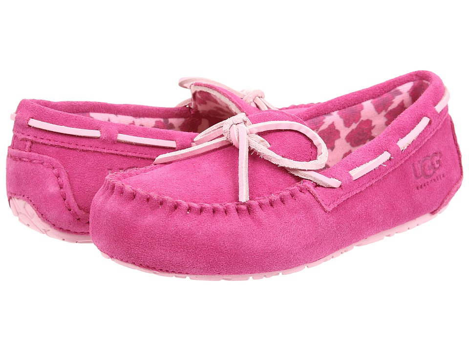 UGG Kids - Ryder Rose (Toddler/Little Kid/Big Kid) (Princess Pink Suede) Girls Shoes