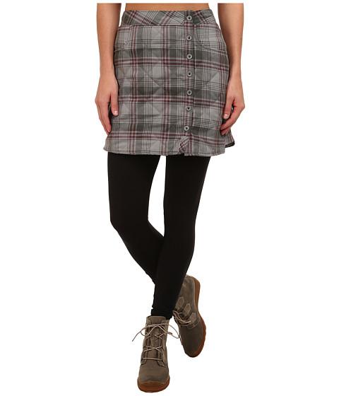 Toad&Co - Quilted Birddog Skirt (Dark Graphite) Women's Skirt