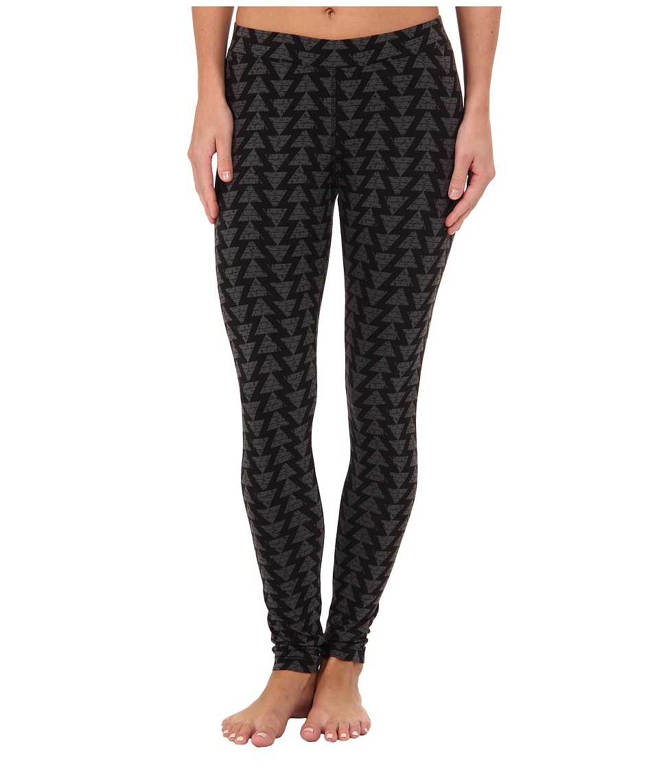 Toad&Co - Printed Lean Legging (Black/Dark Graphite) Women's Casual Pants
