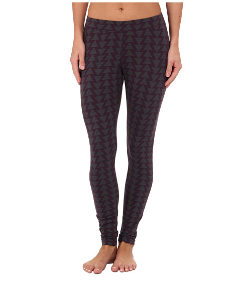 Toad&Co - Printed Lean Legging (Dark Plum/Dark Graphite) Women