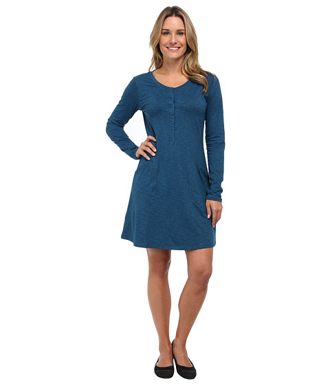 Toad&Co - Rooney Dress (Moroccan Blue) Women's Dress