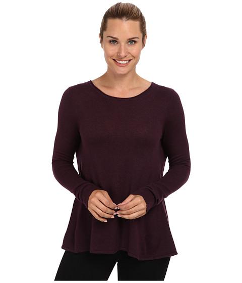 Toad&Co - Crossback Sweater (Dark Plum) Women's Sweater