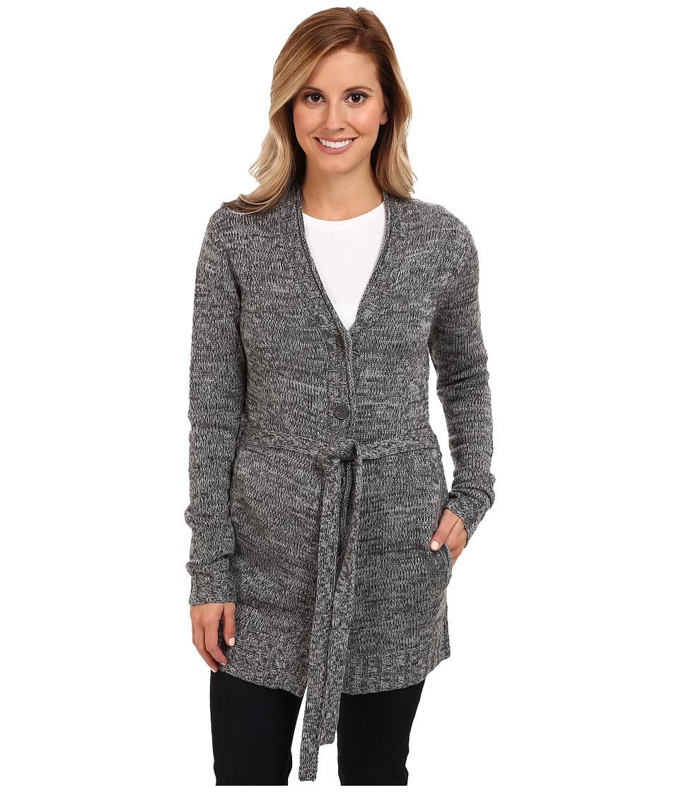 Toad&Co - Marlevelous Long Cardigan (Heather Grey/Dark Graphite) Women's Sweater