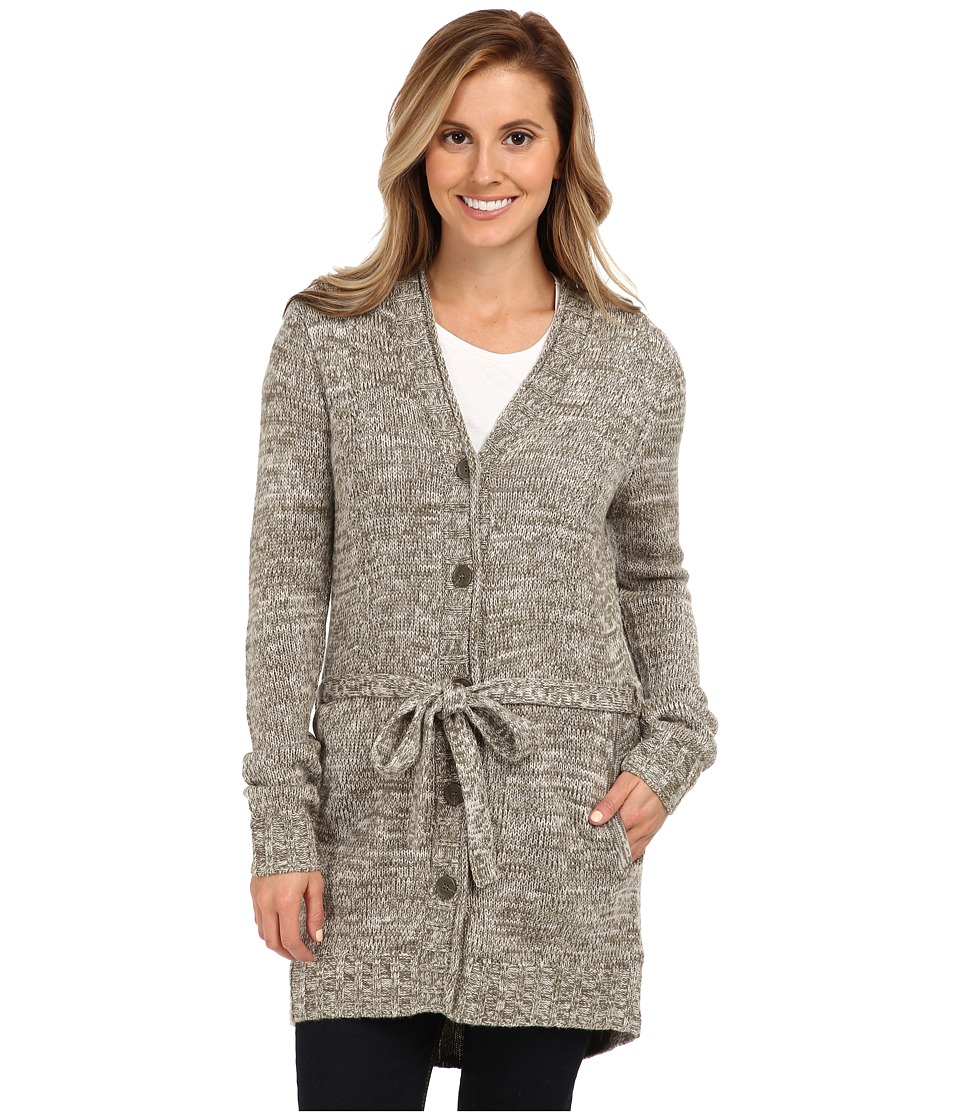 Toad&Co - Marlevelous Long Cardigan (Molasses/Oatmeal) Women's Sweater