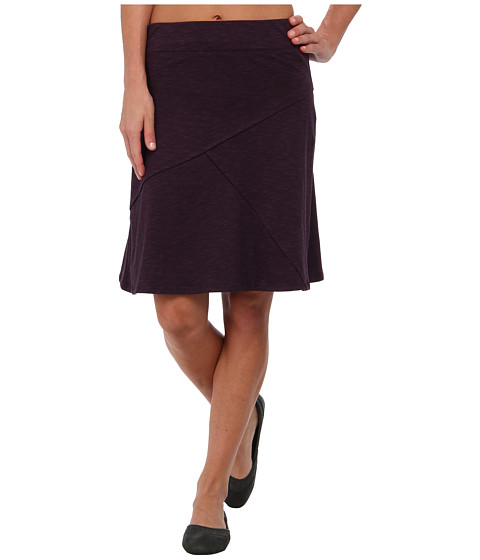 Toad&Co - Oblique Skirt (Dark Plum) Women