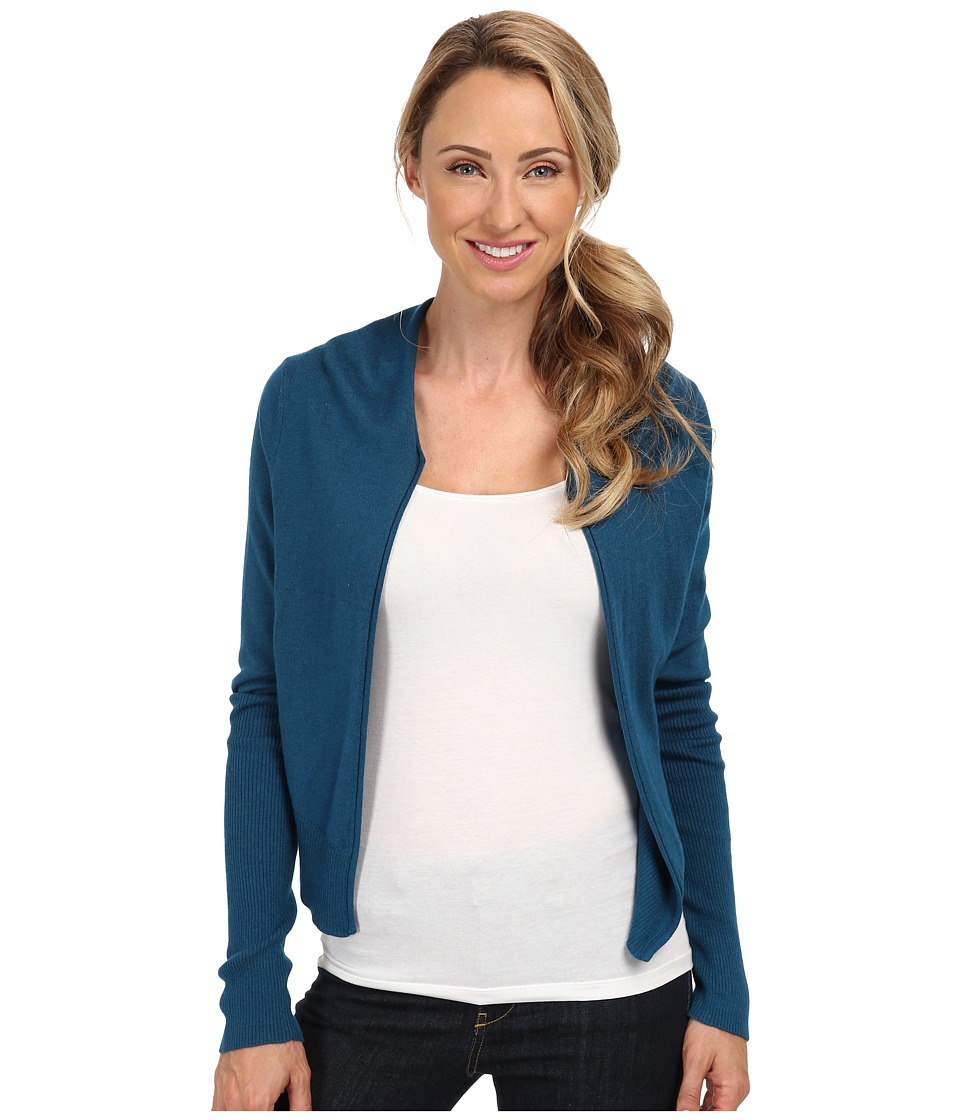 Toad&Co - Cardamon Short Cardigan (Moroccan Blue) Women's Sweater