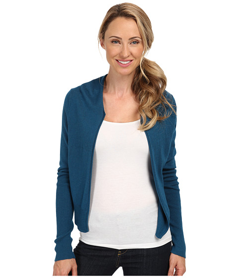 Toad&Co - Cardamon Short Cardigan (Moroccan Blue) Women