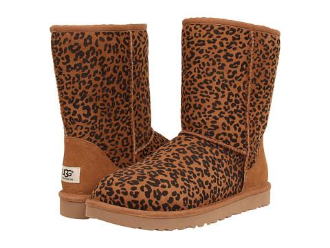 UGG - Classic Short Rosette (Chestnut) Women's Boots