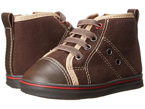 Cole Haan Kids - Mini Cory Hi Top (Infant/Toddler) (Dark Brown) Boys Shoes