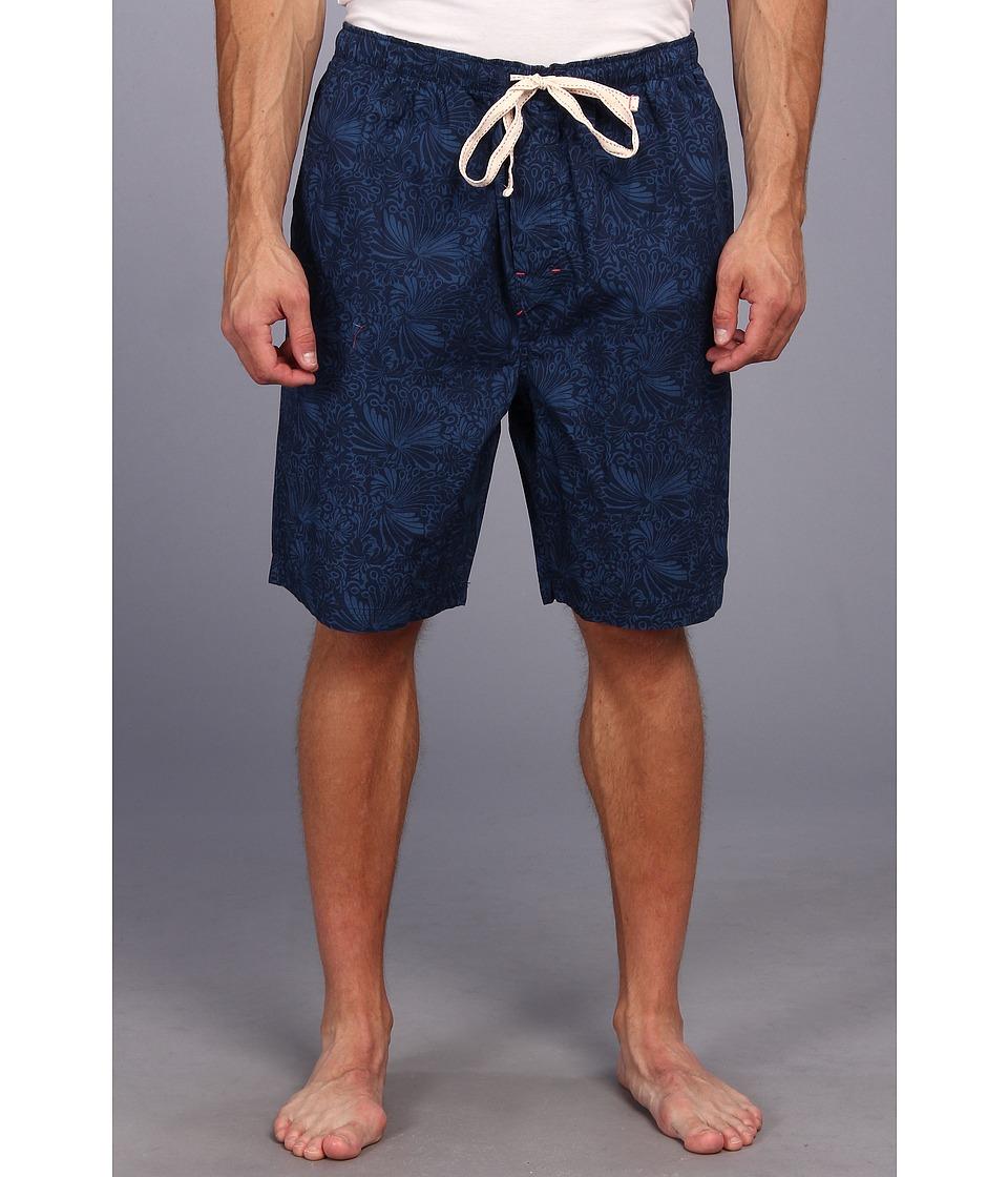 Tommy Bahama Big Tall Twilight Breeze Lounge Shorts Mens Shorts (Navy)