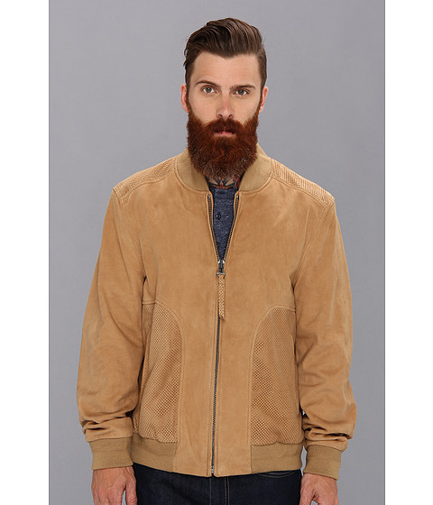 Andrew Marc x Richard Chai - Day Break Bomber (Khaki) Men's Coat