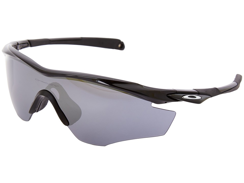 Oakley - M2 Frame (Pol Black w/ Black Iridium) Sport Sunglasses