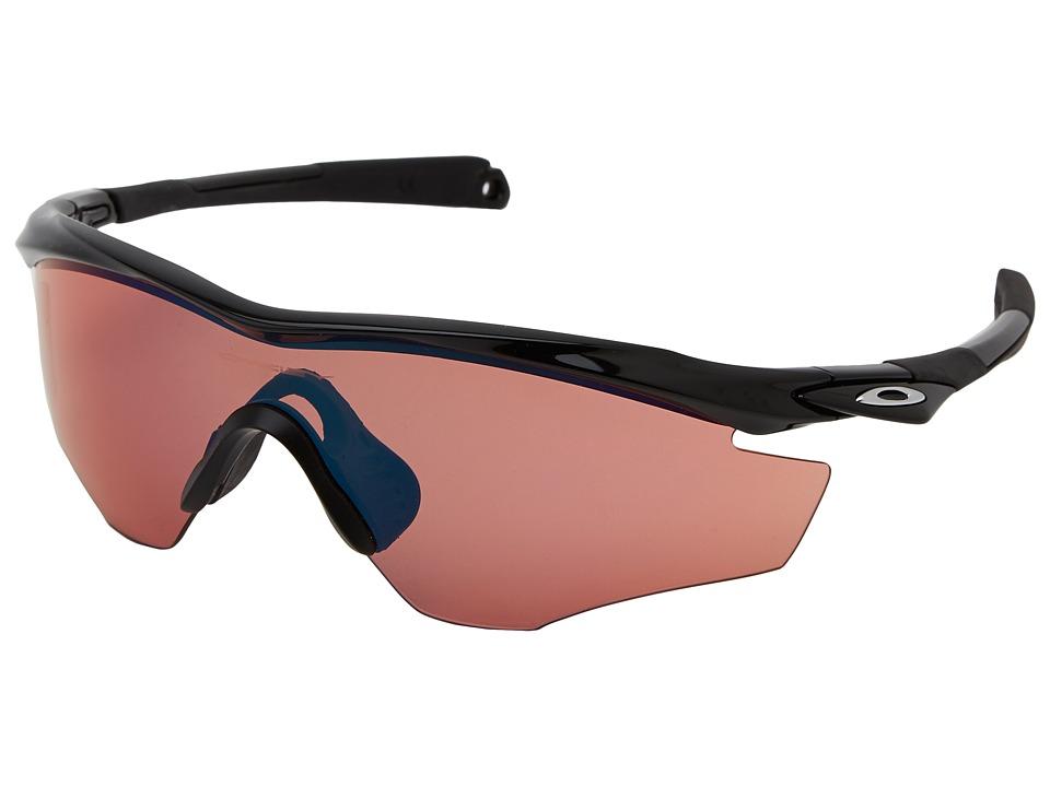 Oakley - M2 Frame (Pol Black w/ G30 Iridium) Sport Sunglasses
