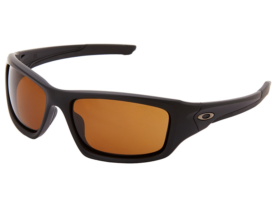 Oakley - Valve (Matte Black w/ Dark Bronze) Sport Sunglasses