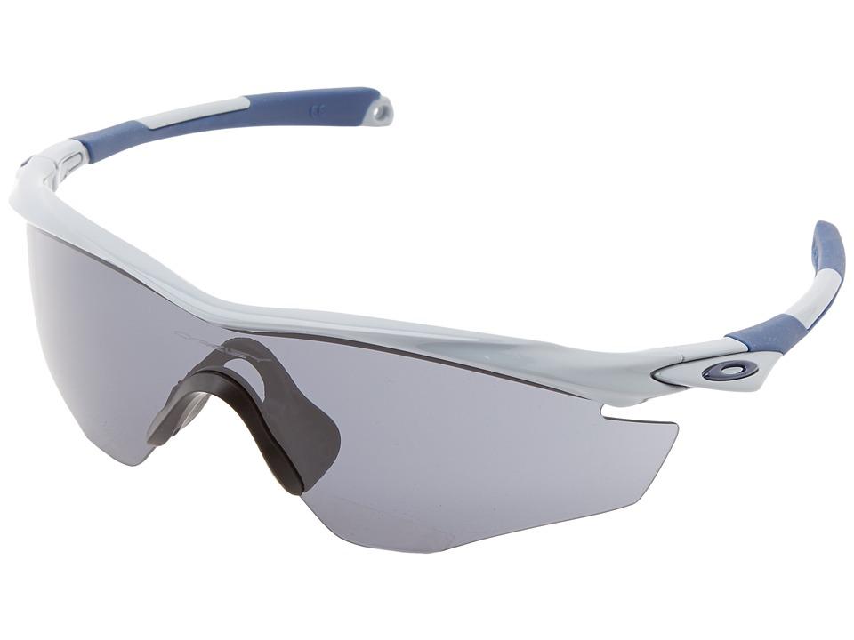 Oakley - M2 Frame (Pol Fog w/ Grey) Sport Sunglasses