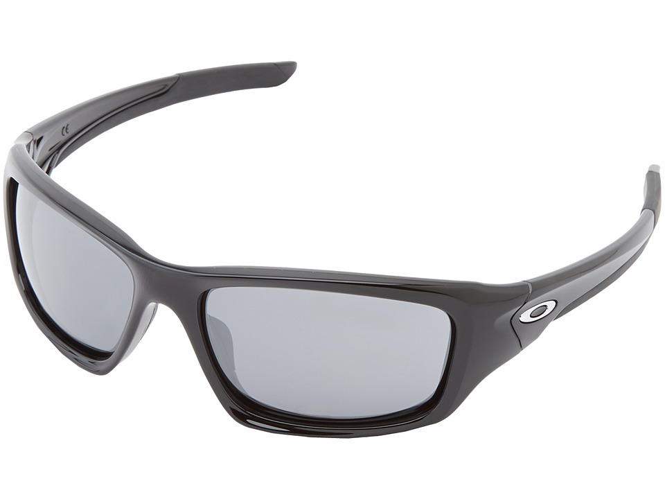 Oakley - Valve (Polished Black w/ Black Iridium) Sport Sunglasses