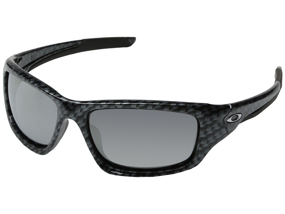 Oakley - Valve (Carbon Fiber w/ Chrome Iridium) Sport Sunglasses