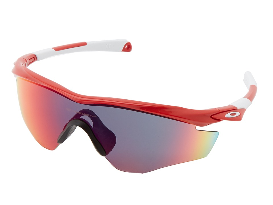 Oakley - M2 Frame (Redline w/ Positive Red Iridium) Sport Sunglasses