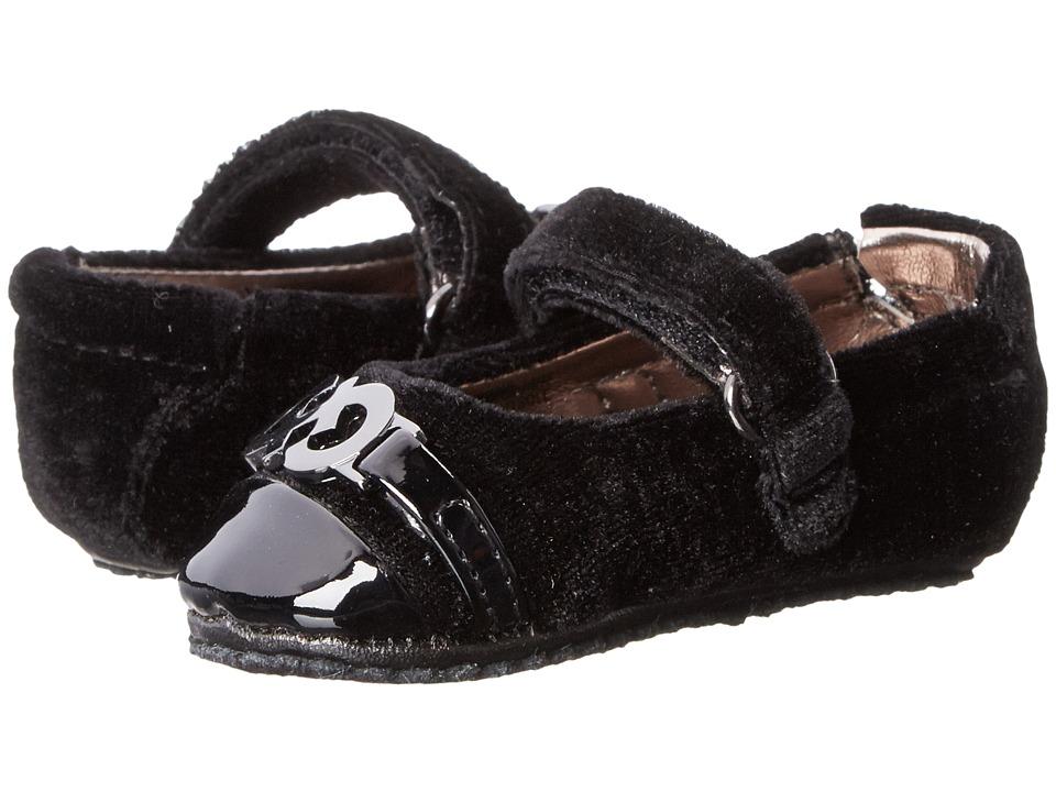 Cole Haan Kids - Mini Adler Bit (Infant/Toddler) (Black) Girls Shoes