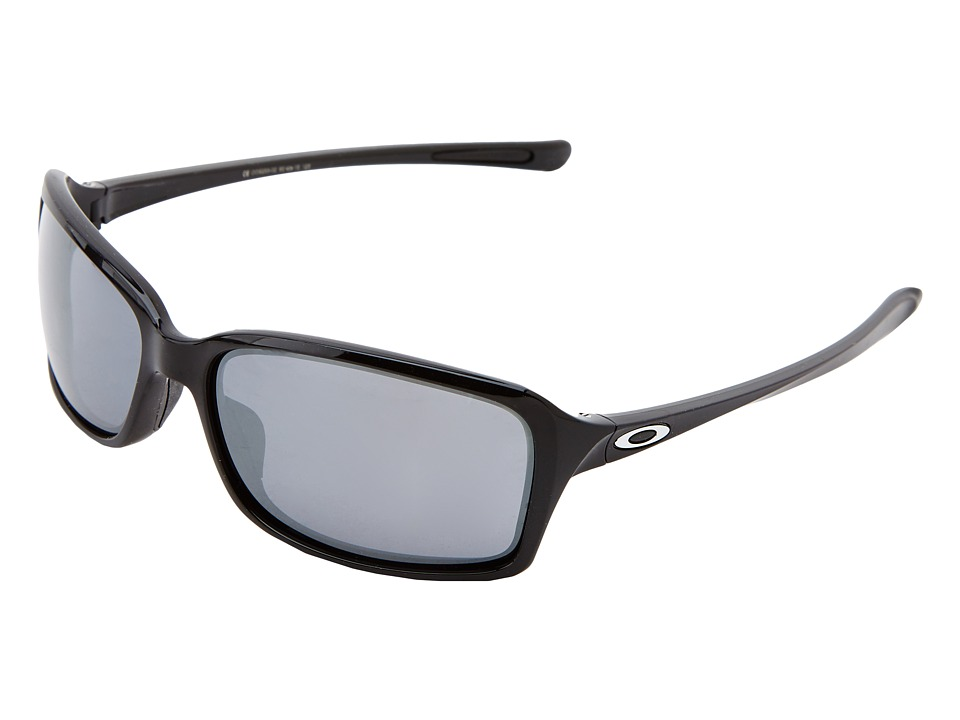 Oakley - Dispute (Pol Black w/ Black Iridium) Sport Sunglasses