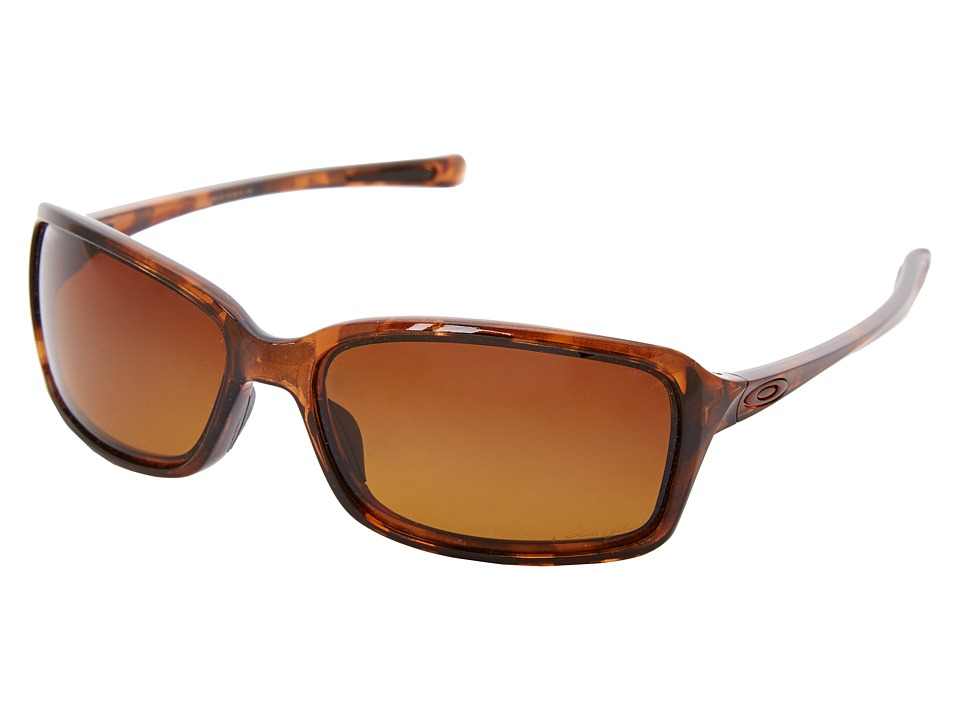 Oakley - Dispute (Tort w/ Brown Gradient Polarized) Sport Sunglasses