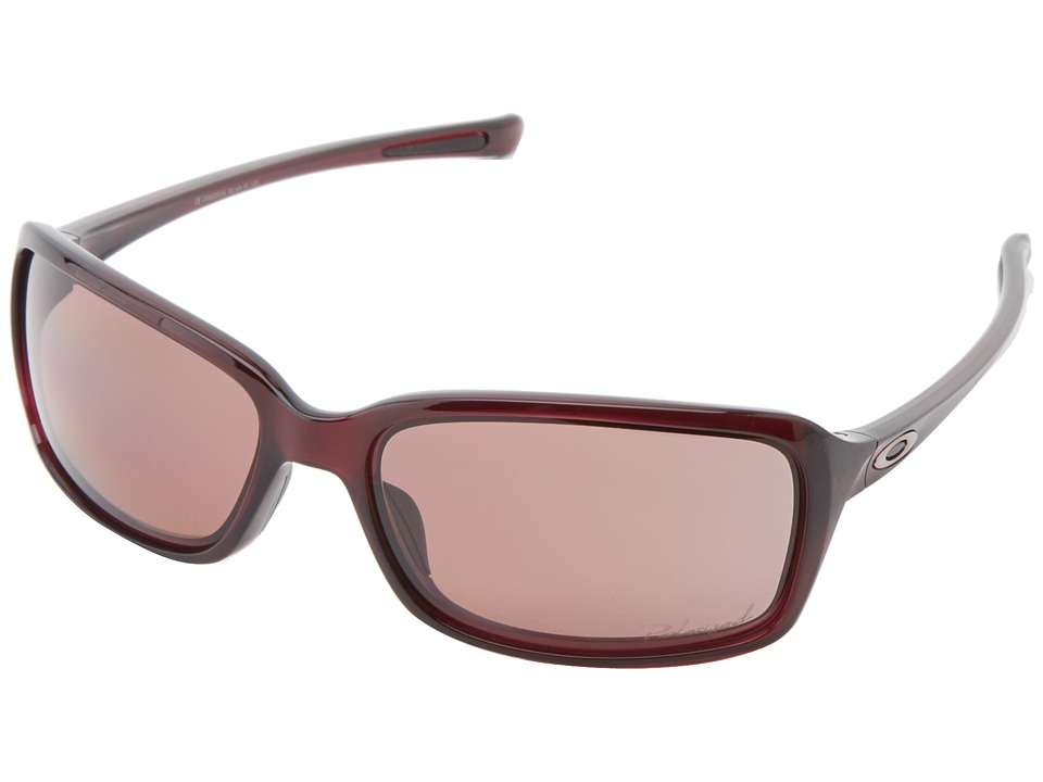 Oakley - Dispute (Crystal Rasp w/ OO Grey Polarized) Sport Sunglasses