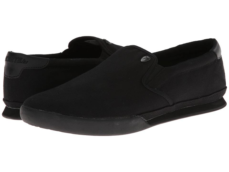 Macbeth - McQueen (Black/Black Classic Canvas) Men's Skate Shoes