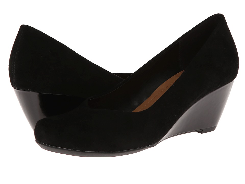 Clarks - Bassett Mine (Black Suede) Women