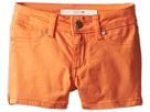 Joe's Jeans Kids Neon Mini Short (Little Kids/Big Kids) (Tangerine)