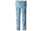Joe's Jeans Kids Printed Jegging (Little Kids/Big Kids) (Aqua Paint Floral)