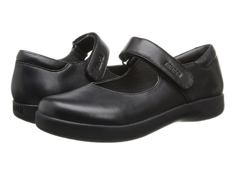 Camper Kids - 80356 (Little Kid/Big Kid) (Black) Girls Shoes