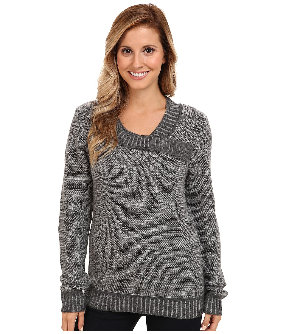 Toad&Co Eclair Sweater (Dark Graphite Heather) Women