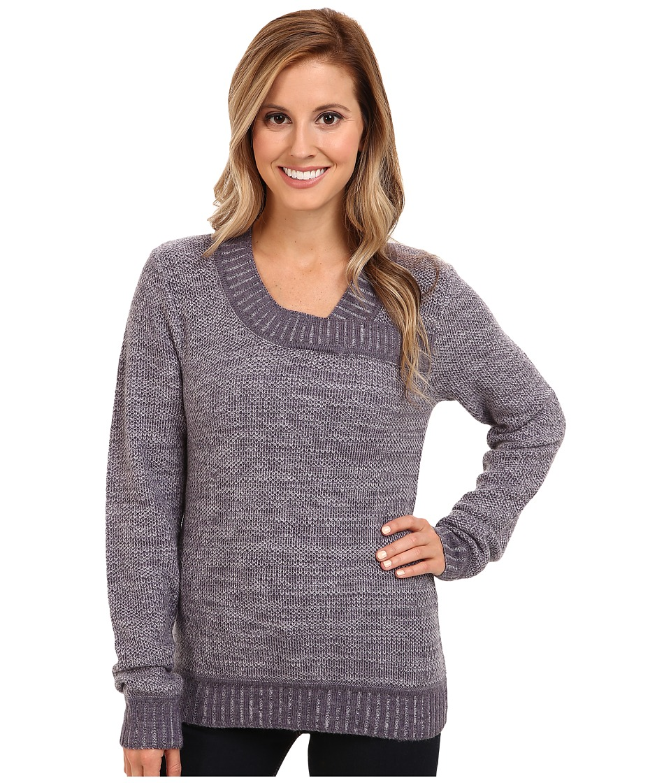 Toad&Co - clair Sweater (Dark Plum Heather) Women's Sweater
