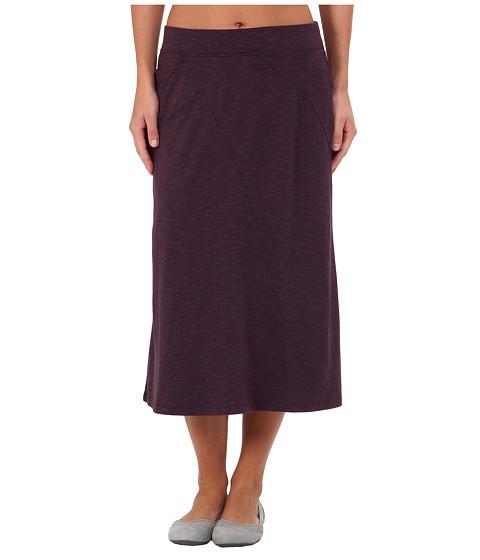 Toad&Co - Sascha Skirt (Dark Plum) Women's Skirt