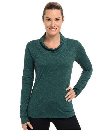 Toad&Co - Cassiopeia Knit Top (Bottle Green) Women's Long Sleeve Pullover