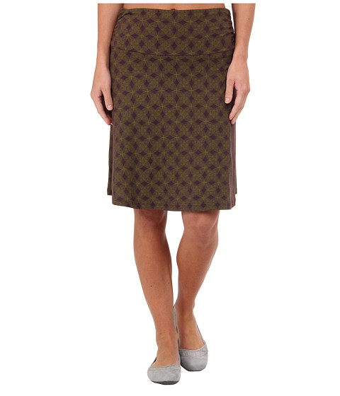 Toad&Co - Chaka Skirt (Dark Plum Print) Women's Skirt