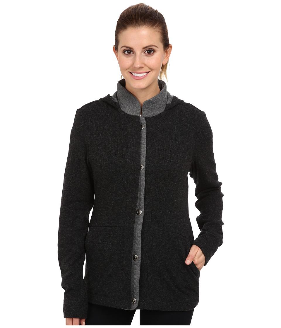 Toad&Co - Monterosa Jacket (Black Heather/Smoke Heather) Women's Coat
