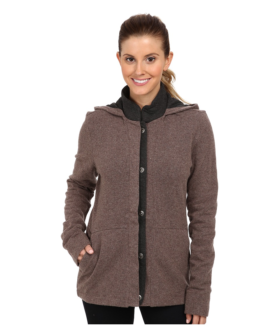 Toad&Co - Monterosa Jacket (Driftwood/Smoke Heather) Women's Coat